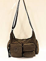 Женская текстильная сумка Bag Street коричневая