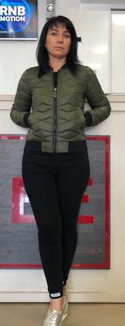Демисезонная стеганная женская куртка на синтепоне, р 44-50., фото 2