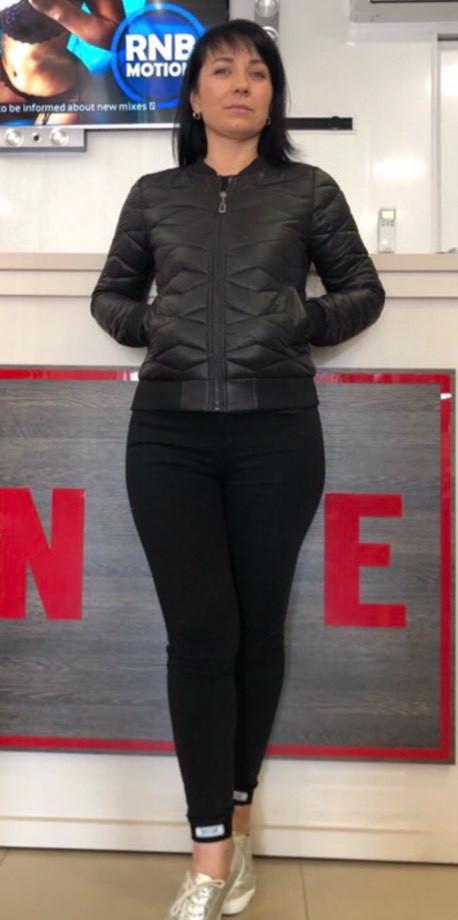 Демисезонная стеганная женская куртка на синтепоне, р 44-50.