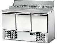 Холодильный стол для пиццы салат-бар GGM SAG147AND#3T, фото 1