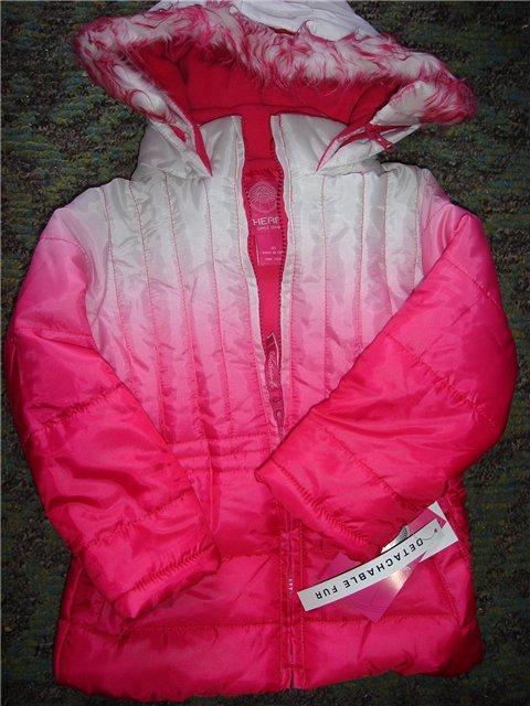 Осіння курточка на флісі з капюшоном з незвичайною забарвленням (Розмір 4Т) Weatherproof (США)
