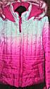 Осіння курточка на флісі з капюшоном з незвичайною забарвленням (Розмір 4Т) Weatherproof (США), фото 2