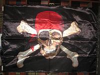 """Флаг """"Анархия"""" / Пиратский флаг"""