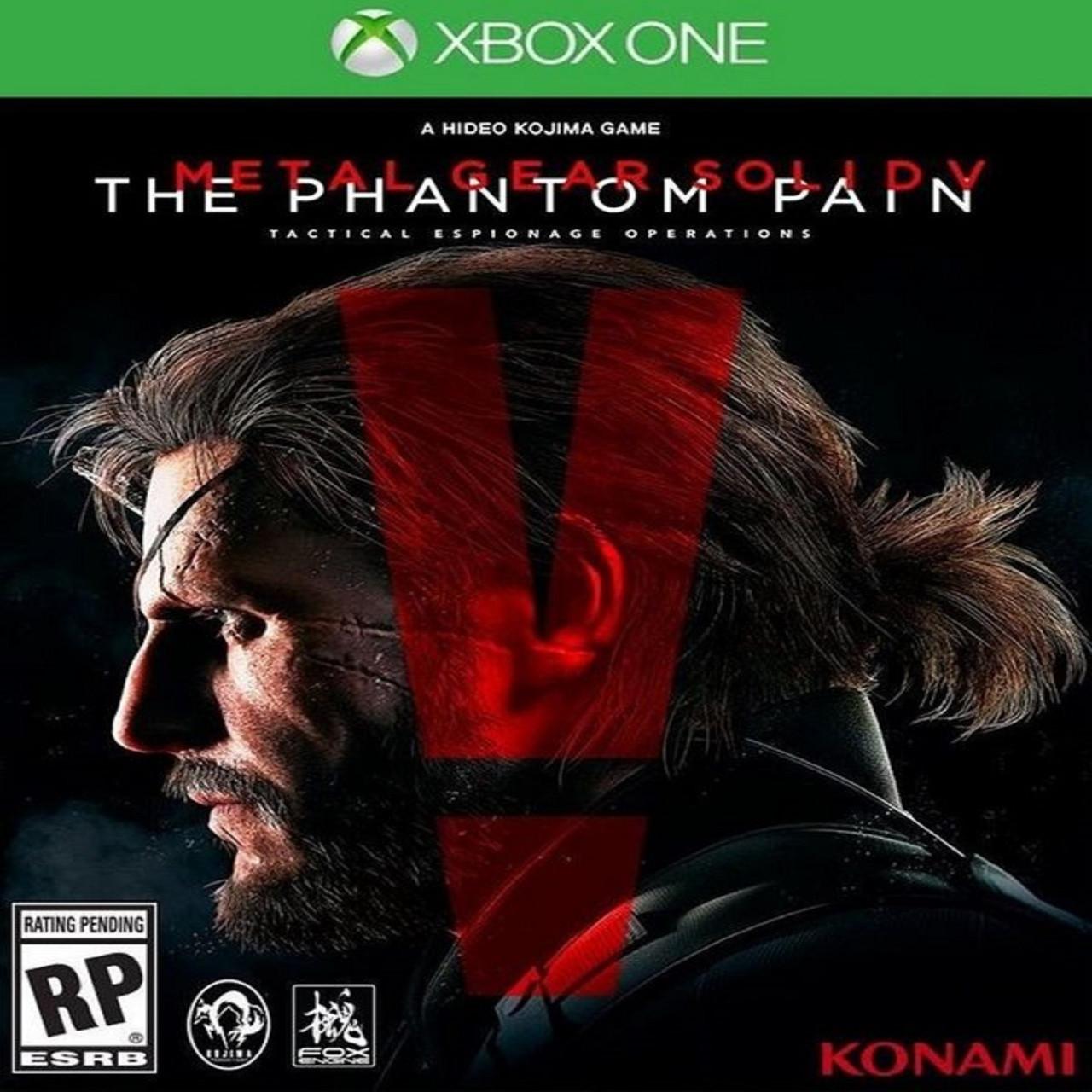 Metal Gear Solid V: The Phantom Pain (русская версия) XBOX ONE (Б/У)