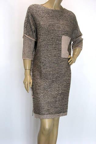 Вязаное платье с люрексом свободного кроя Binka , фото 2