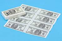 Платочки Пачка денег (евро,доллары)