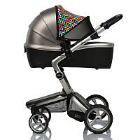 Color Double Shade ДоРечі™. Солнцезащитный козырек (кап) на коляску двойной