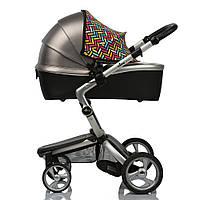 Color Twin Shade ДоРечі™. Солнцезащитный двухсекционный козырек (кап) на коляску