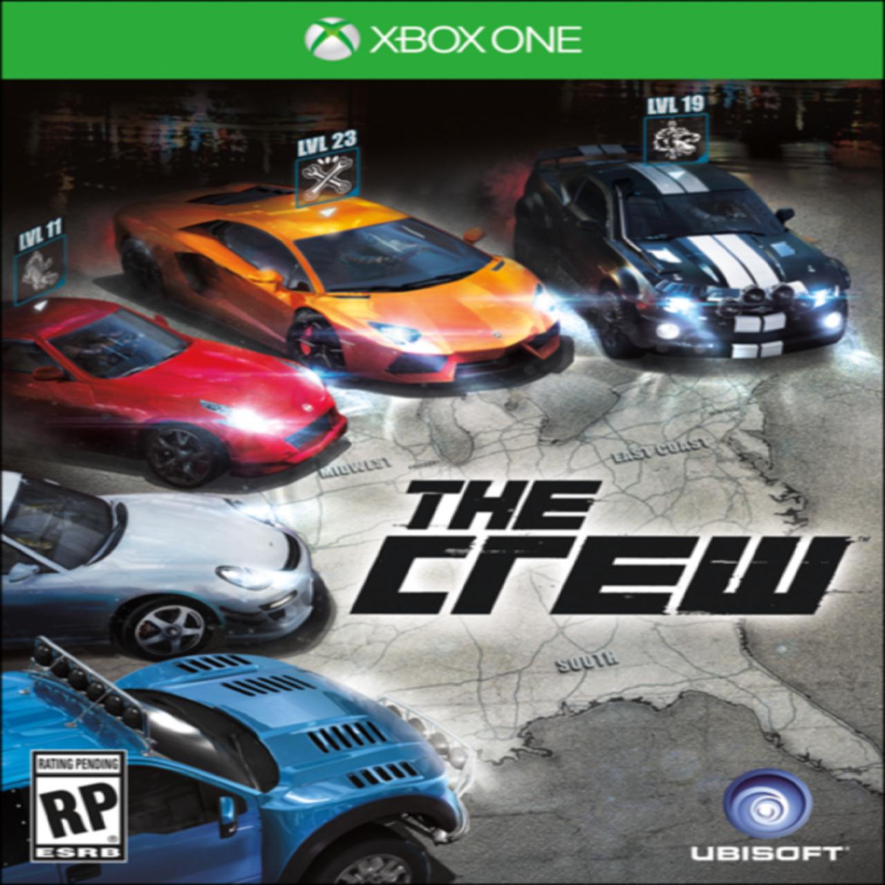 The Crew RUS XBOX ONE (Б/В)