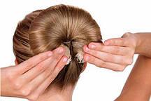 Шпилька на кнопці для створення об'ємної зачіски Hor Buns