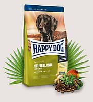 Happy Dog Supreme Sensible Neuseeland - корм с ягненком для собак с чувствительным пищеварением, 4 кг