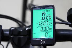 Велокомпьютер SunDing SD-576A сенсорный c подсветкой и влагозащитой