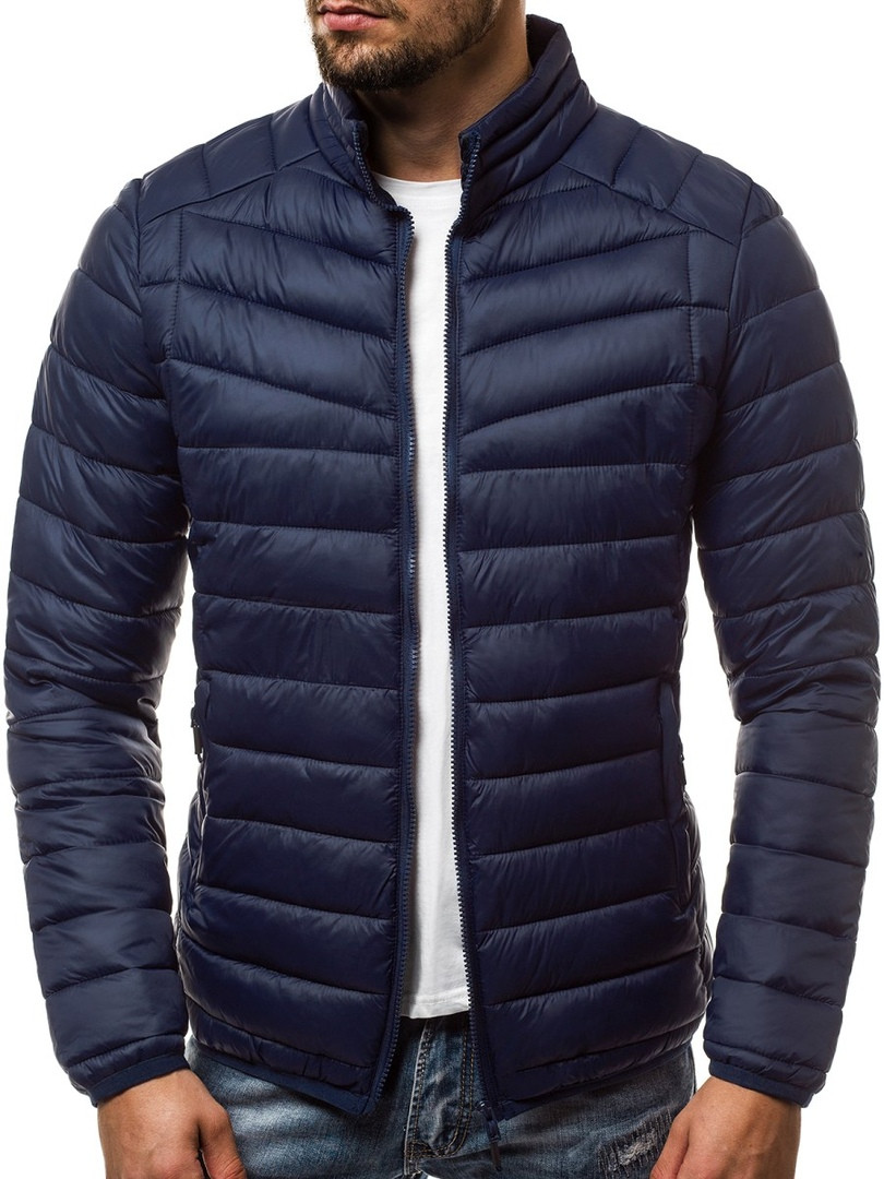 Мужская демисезонная куртка J. Style темно-синяя