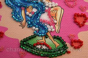 Набор для вышивки бисером магнит Знак Зодиака Весы, фото 3
