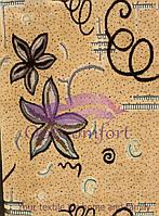 Комплект дивандеков 160х260 (гобелен ковровый). Орхидея беж