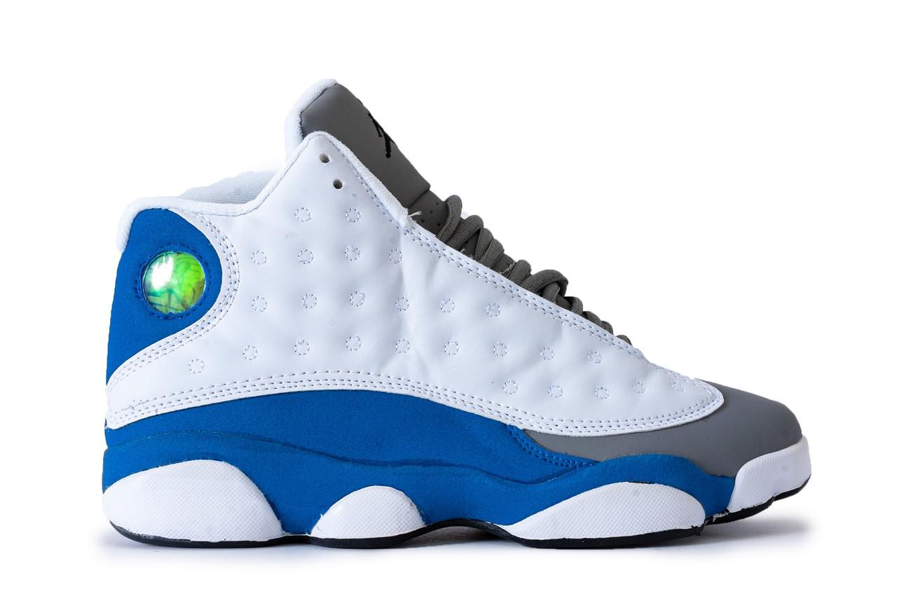 Мужские Кроссовки   в стиле Nike Air JORDAN 13 белые