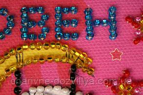 Набор для вышивки бисером магнит Знак Зодиака Овен, фото 3