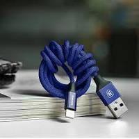 Кабель Baseus Yiven - синий (1,8 метр, USB-lightning), фото 1