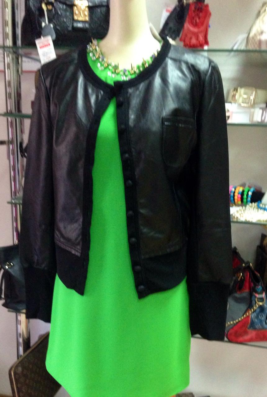 Куртка кожаная женская Valentino