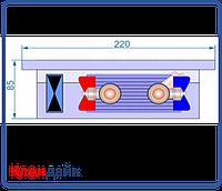 Внутрипольный конвектор Radopol KVK 8 250*4000