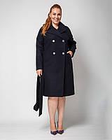 Пальто классическое с английским воротом рр 44-54, фото 1