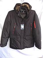 Куртка мужская зимняя большой размер тинсулейт D8 черная Фабричный Китай оптом, фото 1
