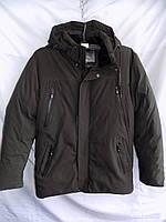 Куртка мужская зимняя большой размер тинсулейт Y-23 хаки Фабричный Китай оптом, фото 1