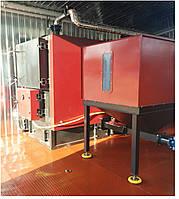 Модульная твердотопливная котельная 100кВт с автоматической подачей, фото 1