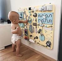 БизиБорд индивидуалные доски для самых маленьких В Украине Доска для Развития Ребёнка Вusyboard Монтессори