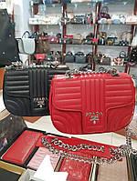 Брендовая Сумка-клатч через плечо Prada Прада дорогой Китай выбор цветов, фото 1