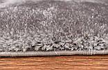 Красивый светло серый ковер травка нейлоновый, фото 2
