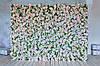 Аренда Фотозона из цветов пастельных полиуретан и ткань искусственный размер 200*300см