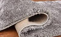 Красивый светло серый ковер травка нейлоновый, фото 1