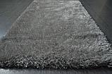 Красивый светло серый ковер травка нейлоновый, фото 3