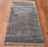 Красивый светло серый ковер травка нейлоновый, фото 4