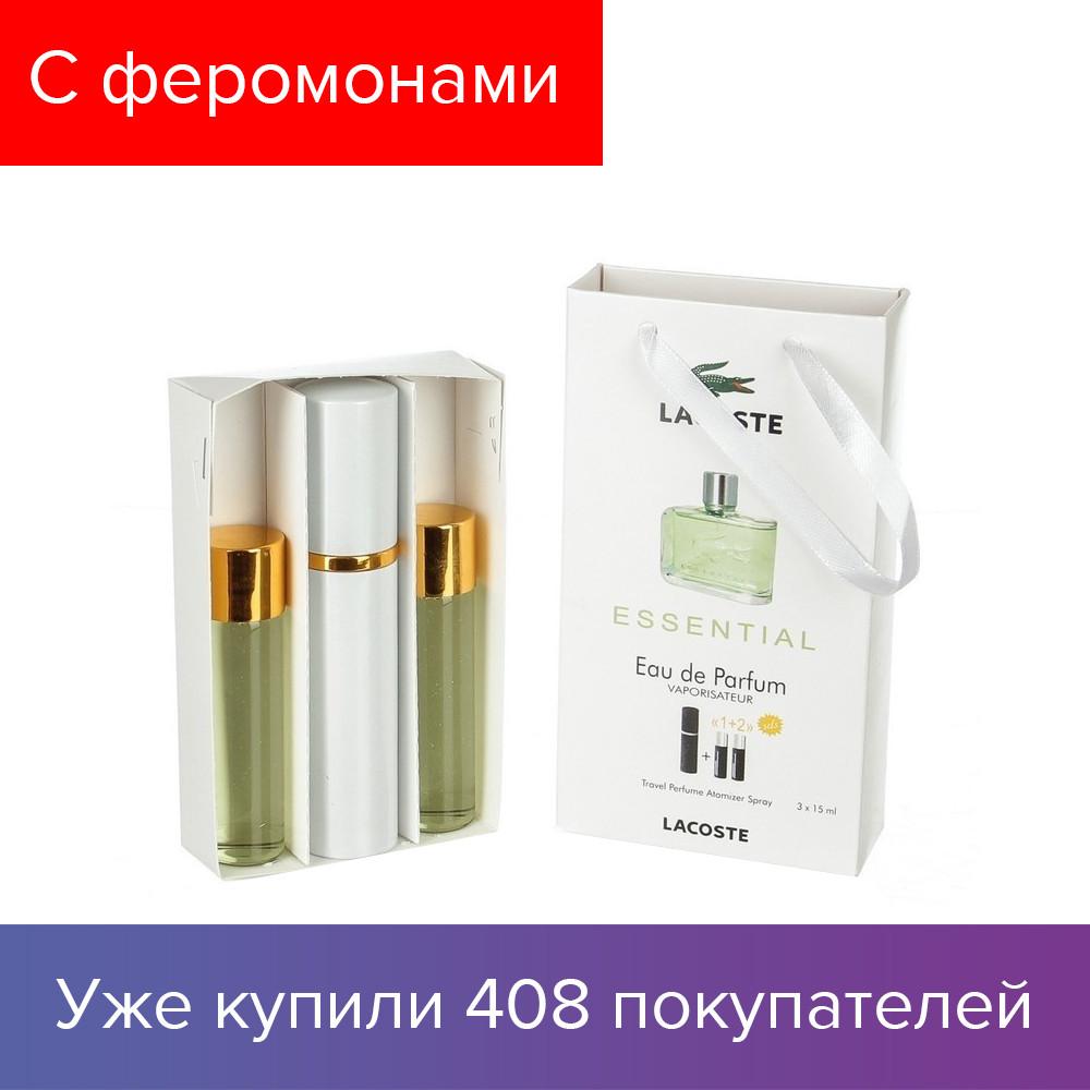 45 ml ( 3x15 ) Lacoste Essential Men. Eau de Parfume  4852aa29d5524