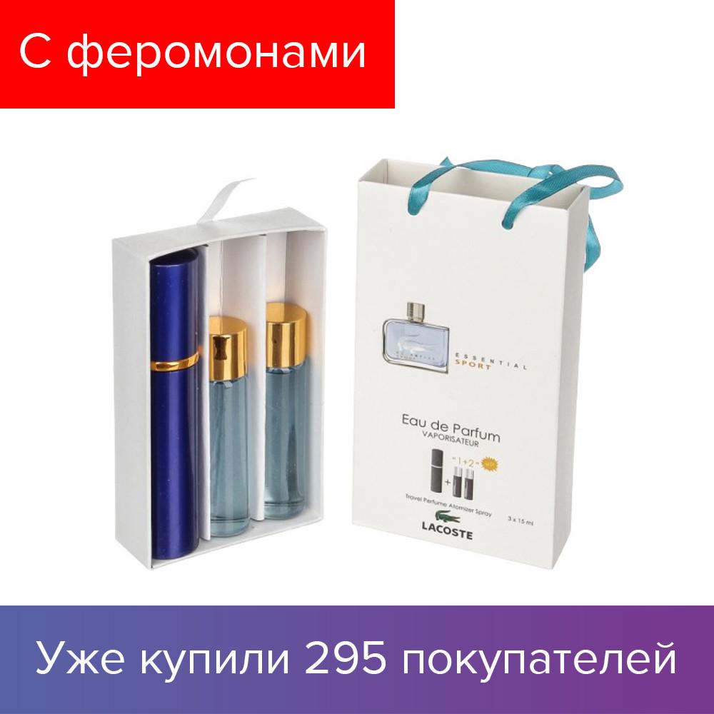 45 ml ( 3x15 ) Lacoste Essential Sport Blue. Eau de Parfume ... a857cb46a0a7c