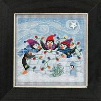 Набор для вышивки Playful Penguins Mill Hill