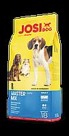 Сухой корм  JosiDog Master Mix (22/11) - корм для взрослых собак всех пород - 18 кг