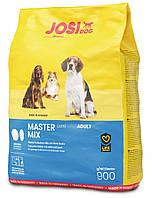 Сухой корм  JosiDog Master Mix (22/11) - корм для взрослых собак всех пород - 0,9 кг