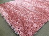 Нежно розовый ковер из нейлона ворсистый шагги 3 см, фото 3