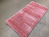 Нежно розовый ковер из нейлона ворсистый шагги 3 см, фото 4