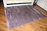 Лиловый фиолетовый ковер травка ворсистая, современные ковры в Днепропетровске, фото 2