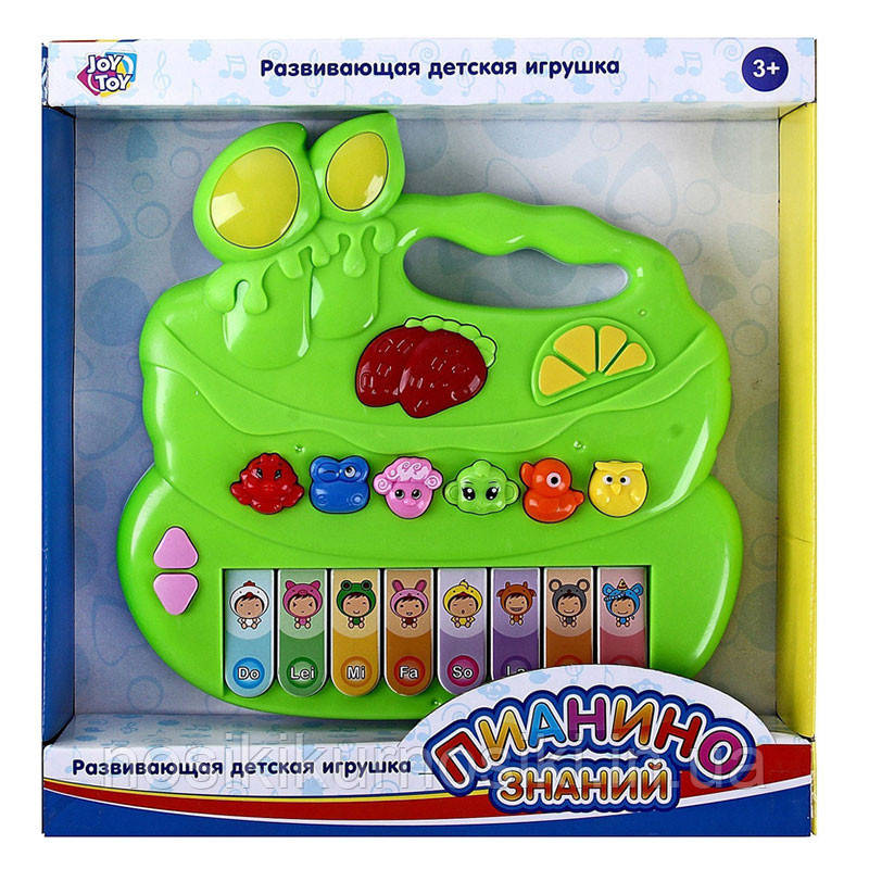 Детское пианино со звуками животных Лягушка