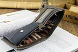 Чоловічий гаманець портмоне Pidengbao Grey, фото 6
