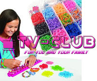 Rainbow Loom Bands - набор для плетения радужек, отличный подарок вашему ребенку