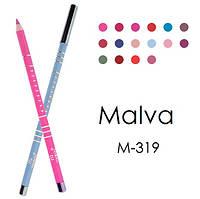 Карандаш для глаз профессиональный Malva М-319