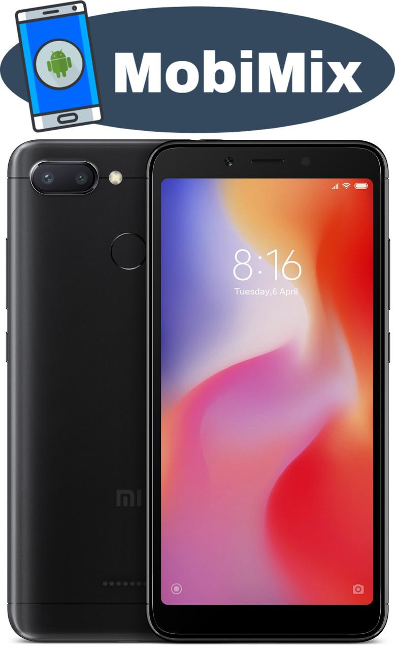 0c7477369ce39 Xiaomi Redmi 6A 2/32GB Black Global - MobiMix интернет-магазин смартфонов в  Кировоградской