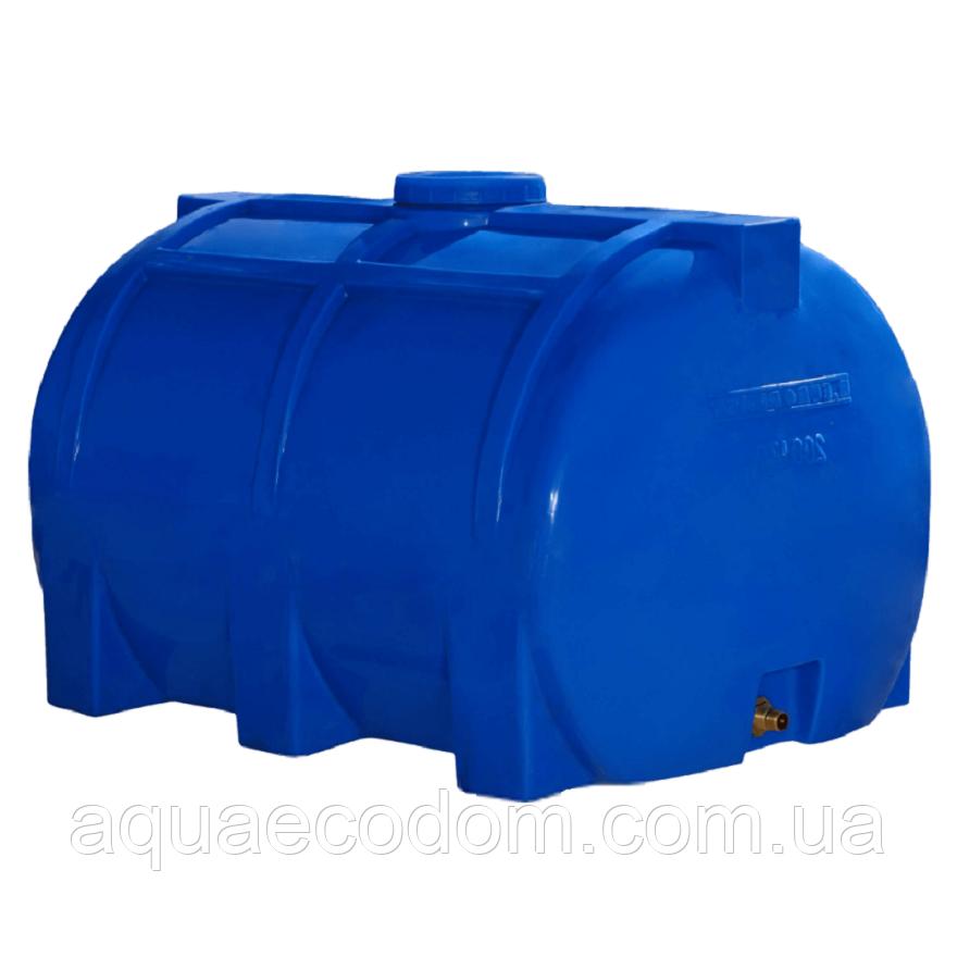 Емкость 200 литров (Горизонтальная).