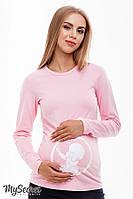 Лонгслив для беременных DELIYA BABY LS-38.012, розовый 48 размер, фото 1